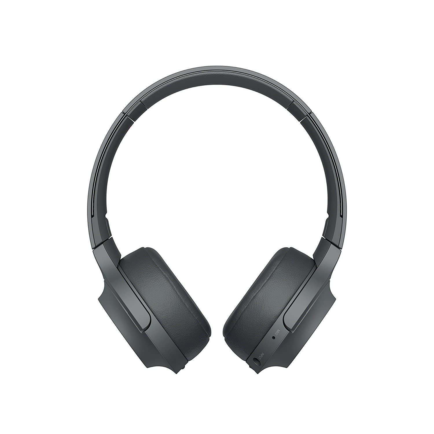 Sony WHH800 Cuffie Over-Hear Stereo, Bluetooth, Hi-Res Audio, con Microfono Integrato, Quick Charge, Colore Nero