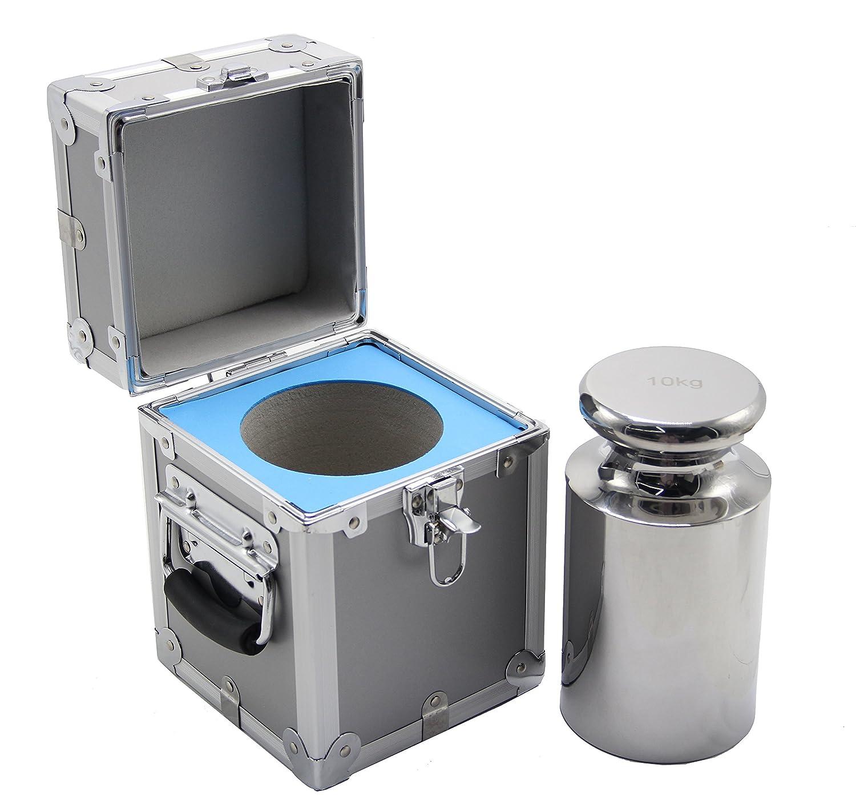 Calibración de alta precisión clase M1 acero inoxidable Peso 10 kg: Amazon.es: Hogar