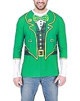 St. Patrick's Day Irish Adult Green Sublimation T-Shirt