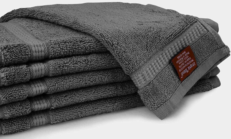 Utopia Towels - Toallitas de algodón de lujo (paquete de 12, gris, 30 x 30 cm): Amazon.es: Hogar