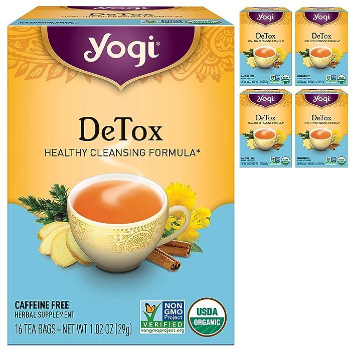 The Best Apple Spice Liver Detox Tea