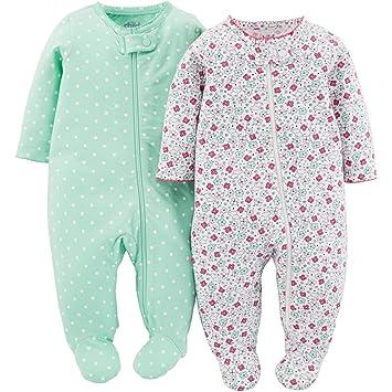 ed551b5f538c Amazon.com  Child of Mine By Carters Baby Girl Long Sleeve Body ...