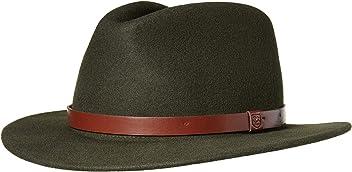 Brixton Men s Messer Medium Brim Felt Fedora Hat 02823d654aa