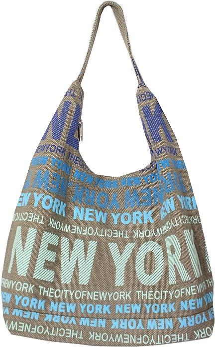 Robin Ruth New York City Cotton Fabric Hobo Shoulder Bag