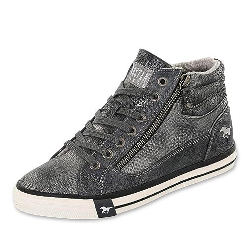 Mustang1146516 - Zapatillas altas Mujer: Amazon.es: Zapatos y complementos