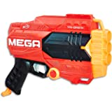 NERF MEGA - Tri Break Blaster - inc 3 MEGA Darts - Kids Toys & Outdoor Games - Ages 8+