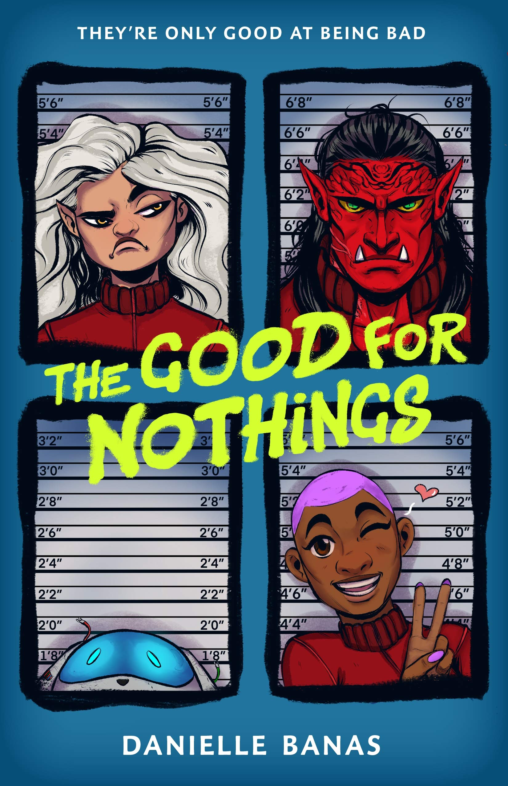 Amazon.com: The Good for Nothings (9781250311252): Banas, Danielle ...