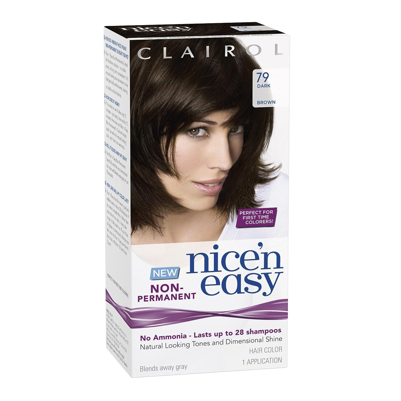Amazon Clairol Nice N Easy Non Permanent Hair Color 79 Dark