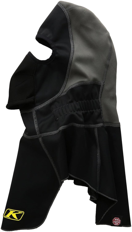 KLIM Men's Arctic Fleece-Lined Neoprene Balaclava Black One Size Fits All