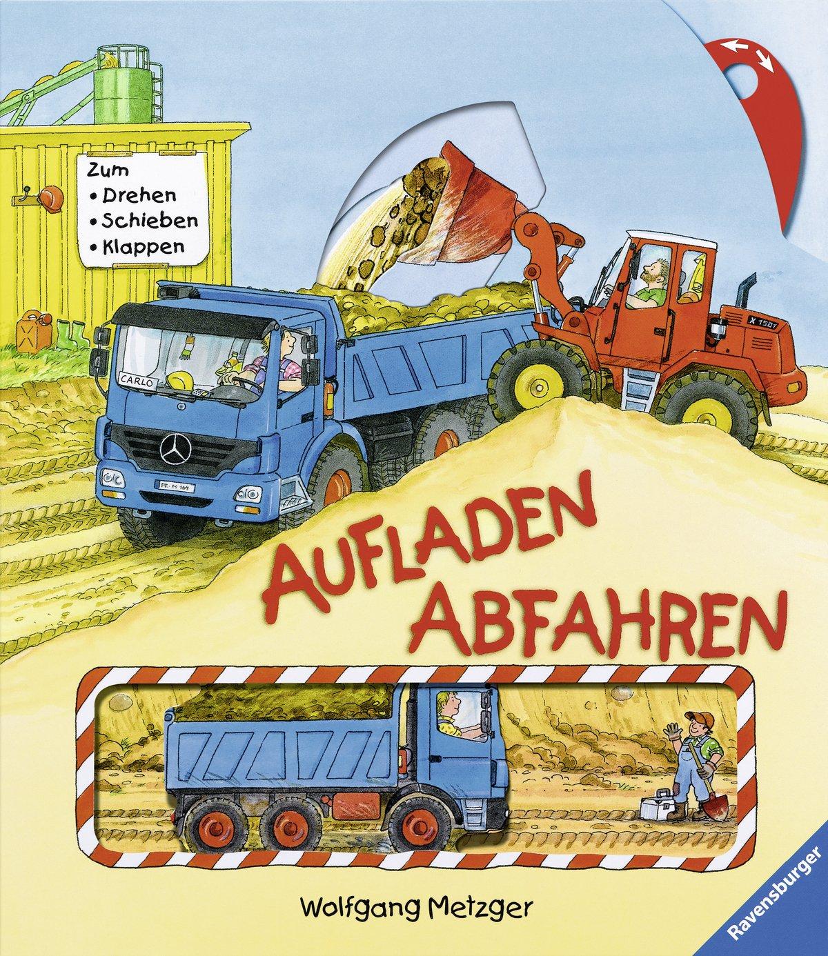 Aufladen - Abfahren: Zum Drehen, Schieben, Klappen