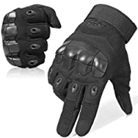 WTACTFUL Touch Screen Rubber Hard Knuckle Full Finger and Half Finger Gloves for Motorcycle Cycling Climbing Hiking Hunting Outdoor Sports Gear Gloves