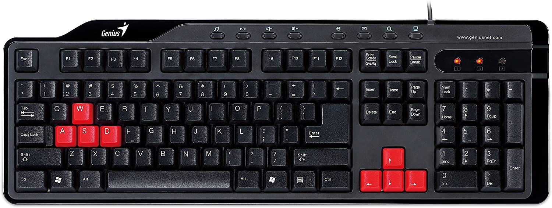 KB-G235 Clavier Gaming pour jeus en Ligne FPS/STG