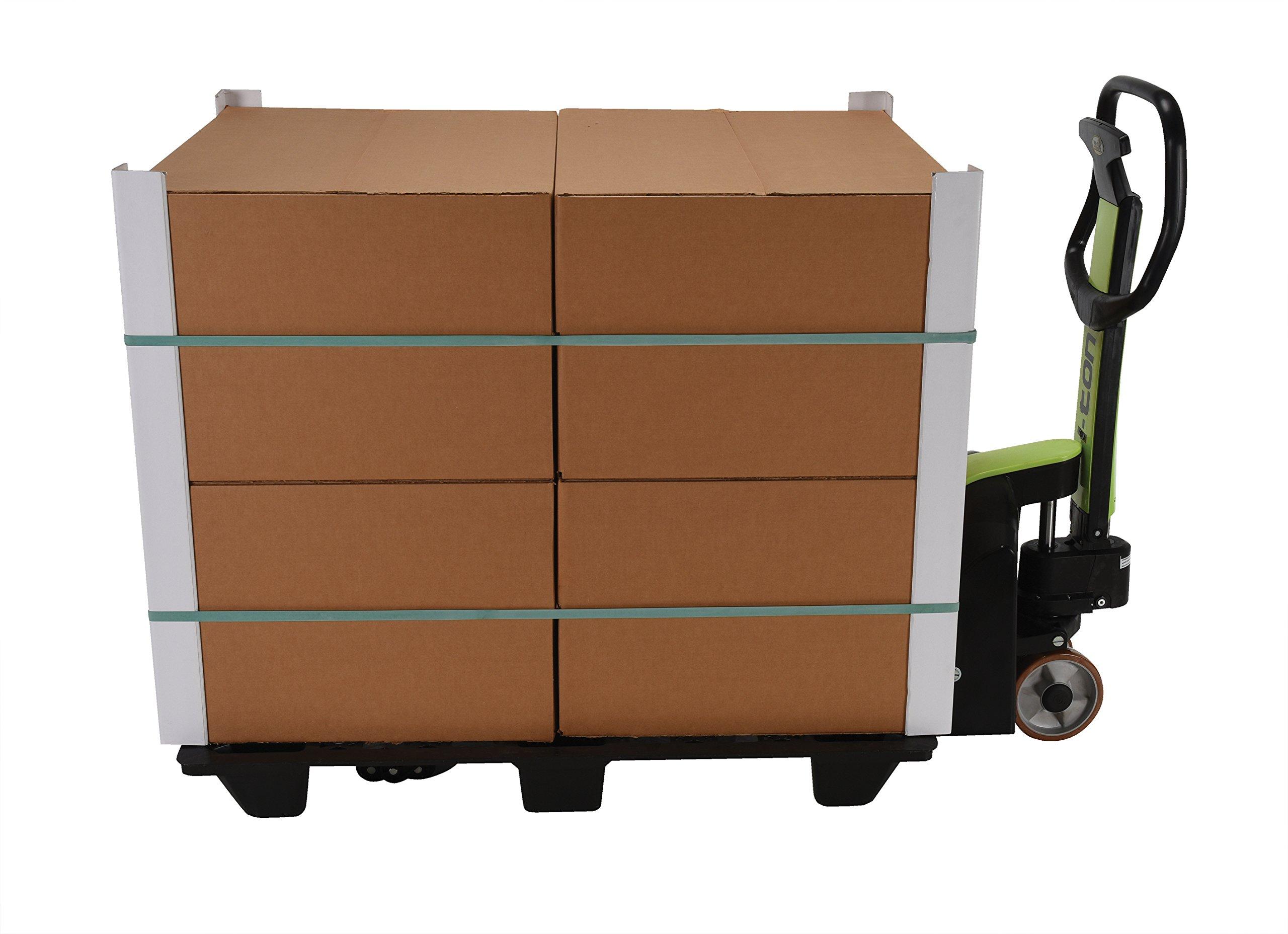 Vestil PMC-PPM-2045-G Plastic Pramac I-Ton Pallet Truck Galv Pump, Painted Green/Black, 2200 lb. Capacity by Vestil (Image #5)