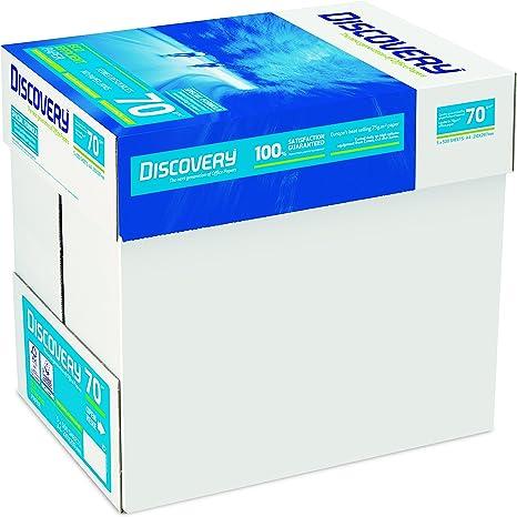 Discovery NDI0700025 - Papel para impresora (70 g/m², A4, 5 ...