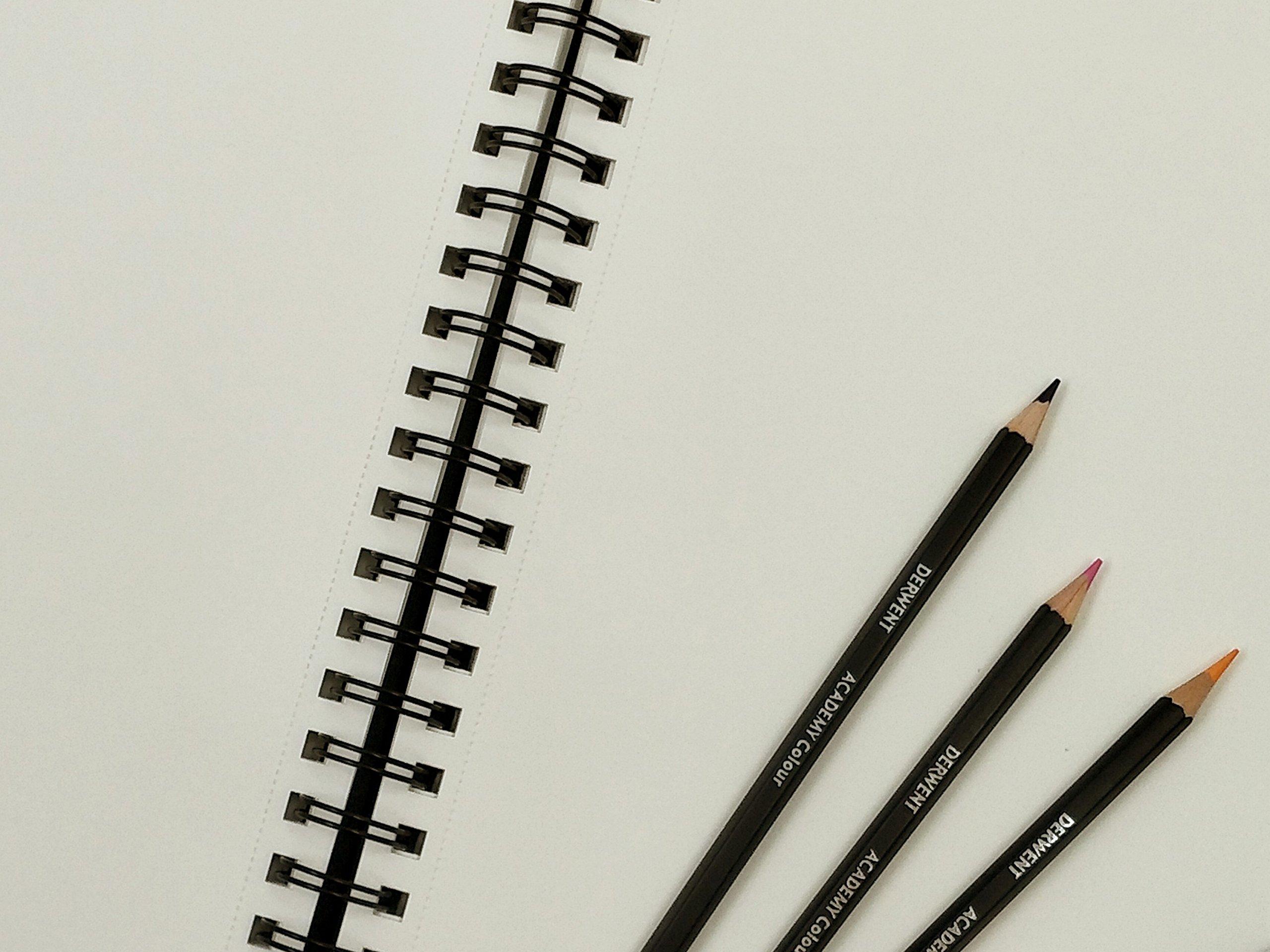 2300379 Derwent Black Sketch Book A4 Portrait