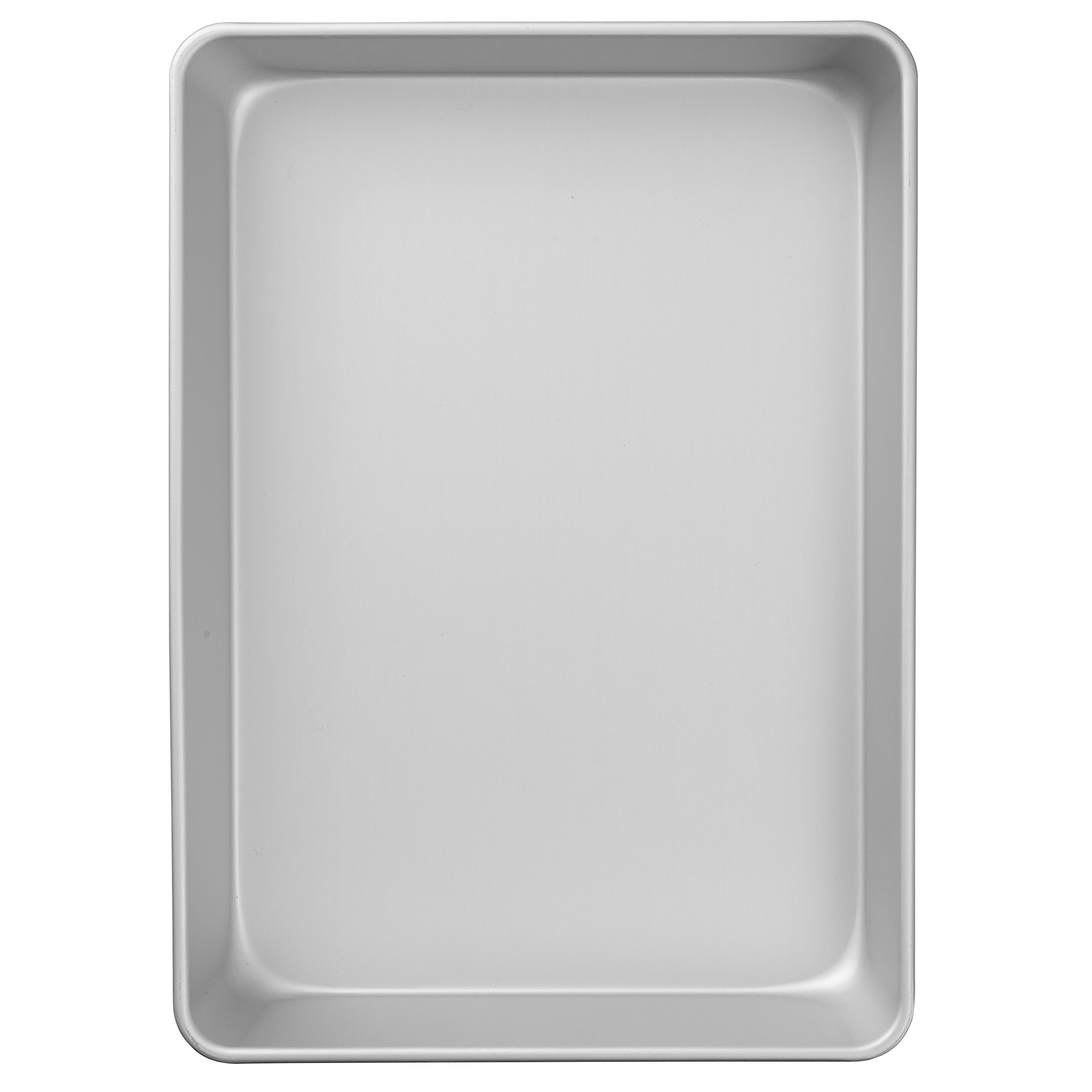 Wilton Performance Pans Aluminum Quarter Sheet Cake Pan, Durable Aluminum Heats Evenly and Holds its Shape Use After Use, 9 x 13-Inch by Wilton