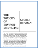 The Toxicity of Environmentalism (English Edition)