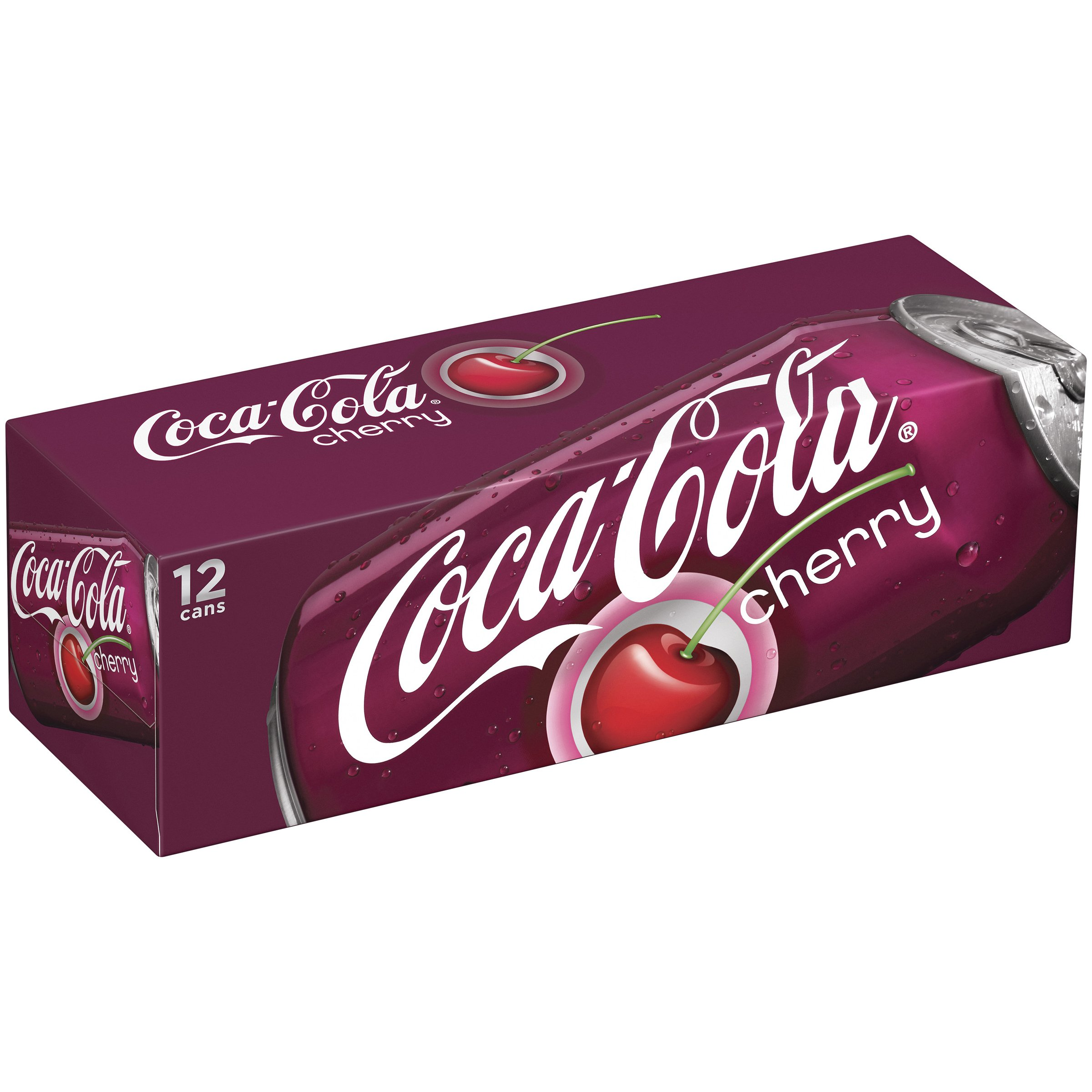 Coca Cola Cherry Coke, 12-Ounce (Pack of 24)