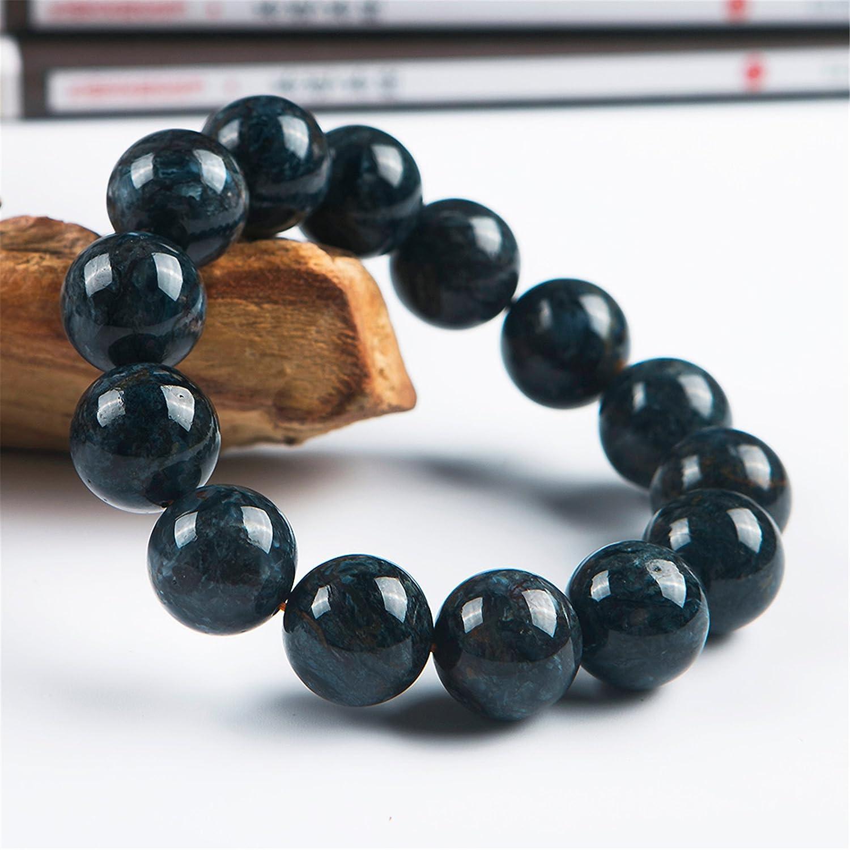 14.5mm Genuine Natural Sugilite Gemstone Crystal Stretch Round Bead Bracelet