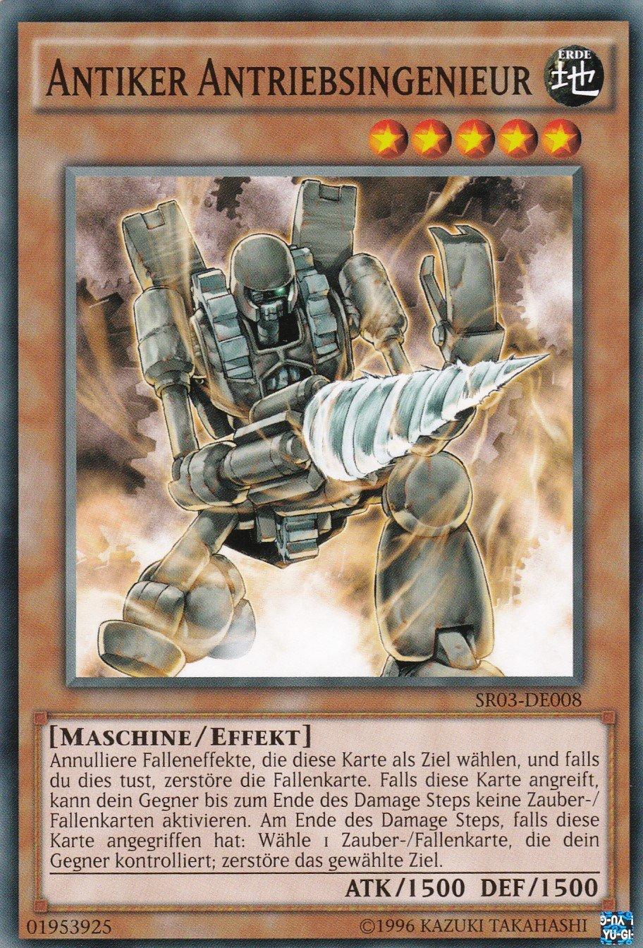 SR03-DE001 Auflage Yu-Gi-Oh Antiker Antriebsreaktordrache Deutsch Ultra Rare 1