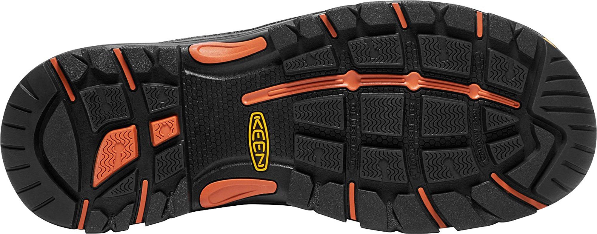 KEEN Utility Coburg 6'' WP (Steel Toe), Men's Work Boot, Cascade Brown/Brindle, 8 EE by KEEN Utility (Image #4)