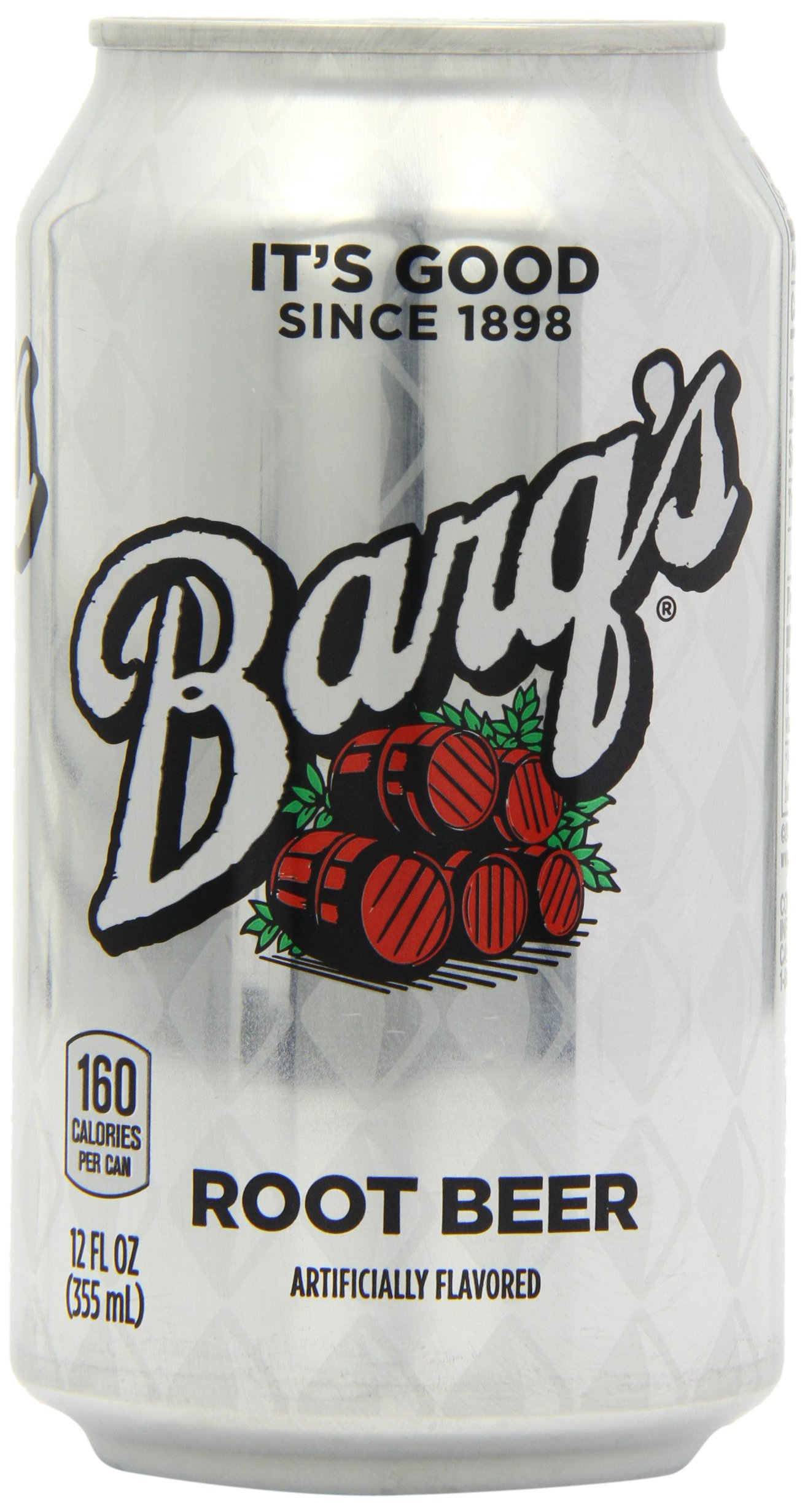 Barq's Root Beer, 12 Oz. Cans, Case of 24