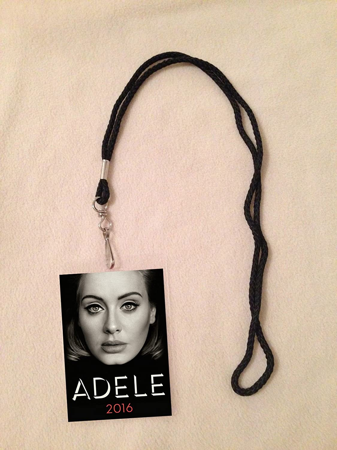 Amazon adele 2016 tour vip all access backstage meet greet amazon adele 2016 tour vip all access backstage meet greet package pass with lanyard everything else kristyandbryce Images
