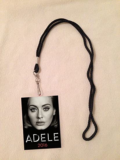 Amazon adele 2016 tour vip all access backstage meet greet adele 2016 tour vip all access backstage meet greet package pass with lanyard m4hsunfo