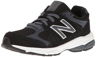 159ad366cc9e New Balance Boys  KJ888 Running Shoe Black Grey 2 Medium US Infant