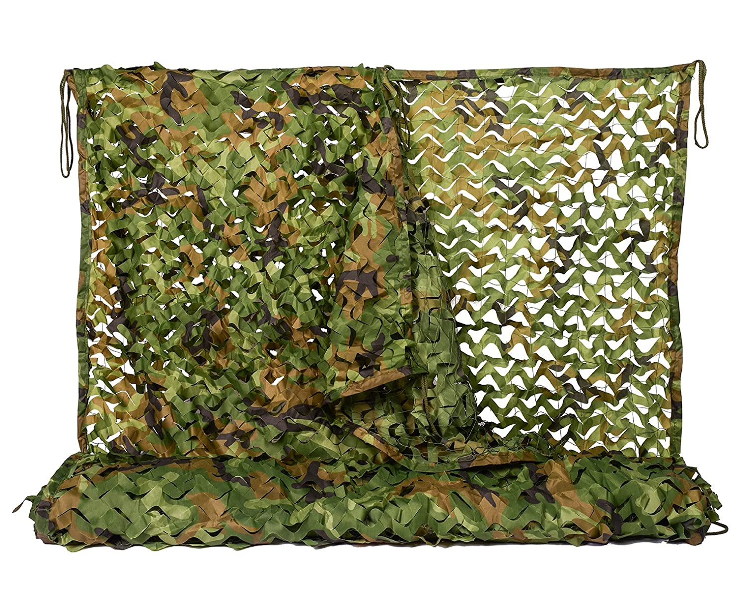 NINAT Woodland Camouflage Netting Army Camo Net For Camping Military  Hunting Shooting Sunscreen Nets  1x2M,2x3M,1 5x4M,2x5M,2x6M,2x8M,3x3M,4x5M,4x6M,6x