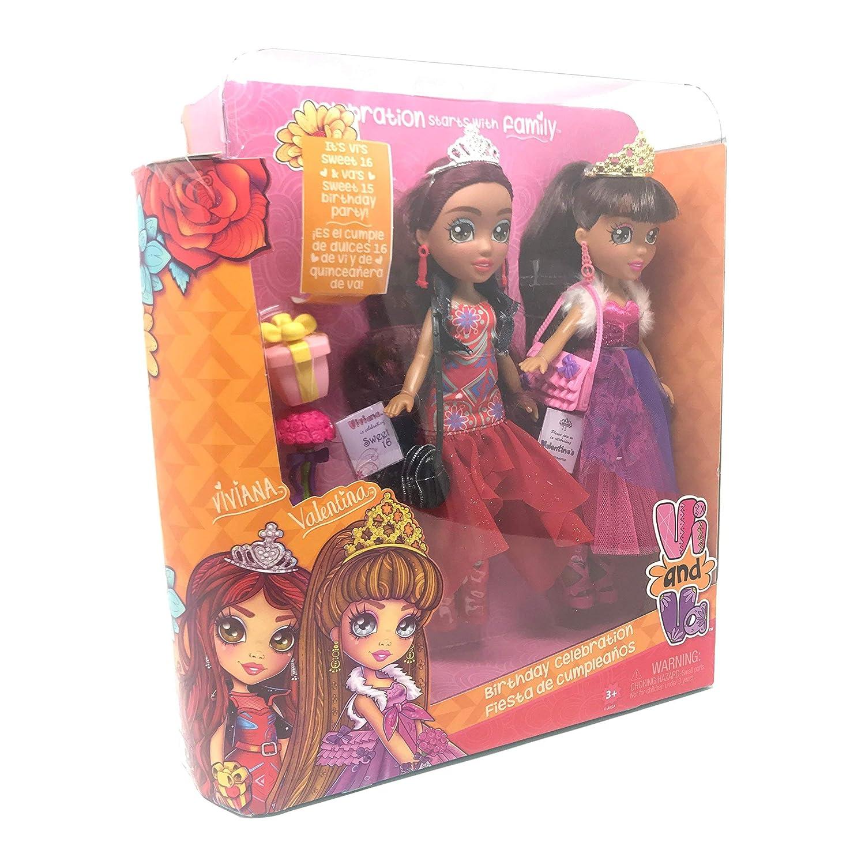 Vi and Va Birthday Celebration Includes Viviana and Valentina Fiesta De Cumpleanos