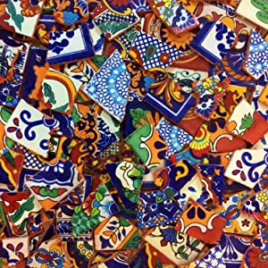 Broken Mexican Tile for Murals and Mosaics! 25 pounds, New! Best Deal!
