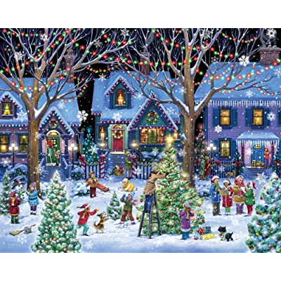 Christmas Cheer Jigsaw Puzzle 1000 Piece: Toys & Games