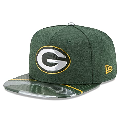 c0feac2f1 Image Unavailable. Image not available for. Color  NFL Green Bay Packers  2017 Draft On Stage 9Fifty Snapback Cap ...