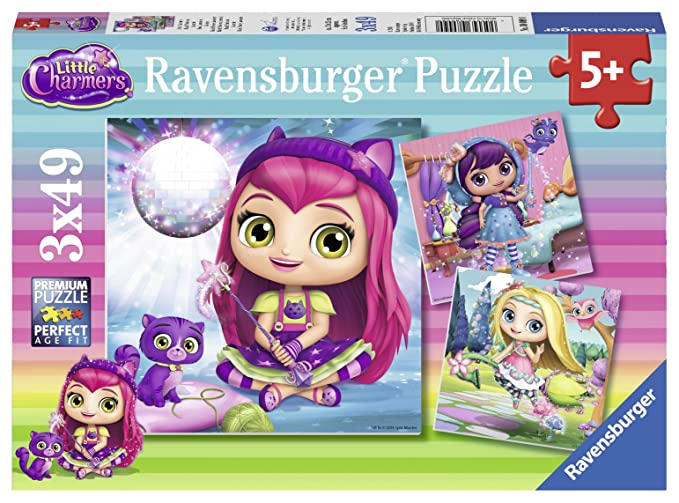 5 opinioni per Ravensburger Italy Little Charmers Puzzle, 08009 0