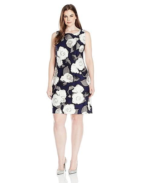 Taylor Dresses Women\'s Plus Size Moonlight Rose Stretch ...