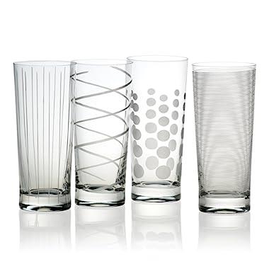 Mikasa Cheers Highball Glass, 19.75-Ounce, Set of 4