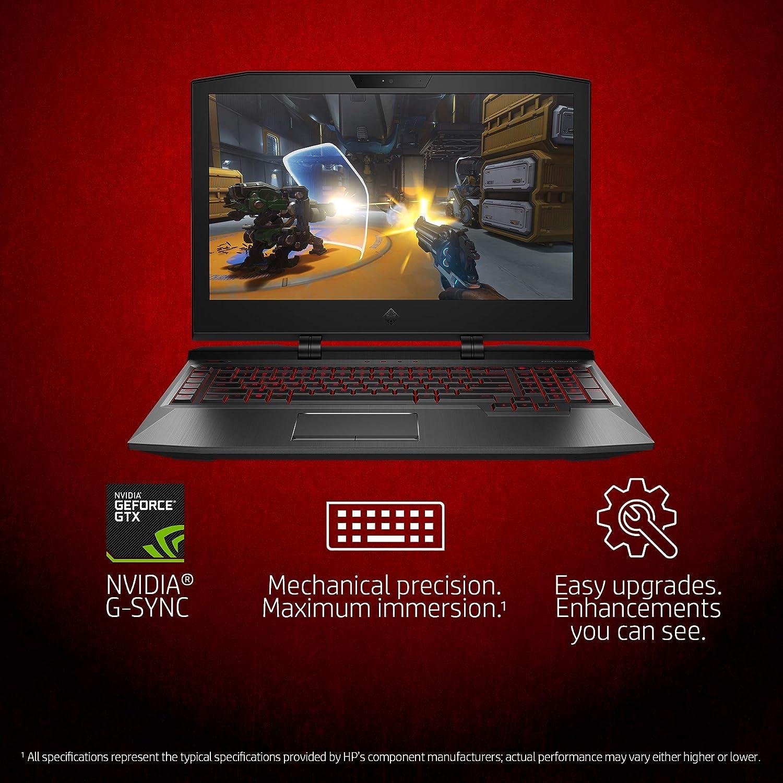 Omen X by HP 17-Inch Gaming Laptop, Intel Core i7-7700HQ Processor, NVIDIA GeForce GTX 1070 8 GB, 16 GB RAM, 1 TB Hard Drive, 256 GB Solid-State ...