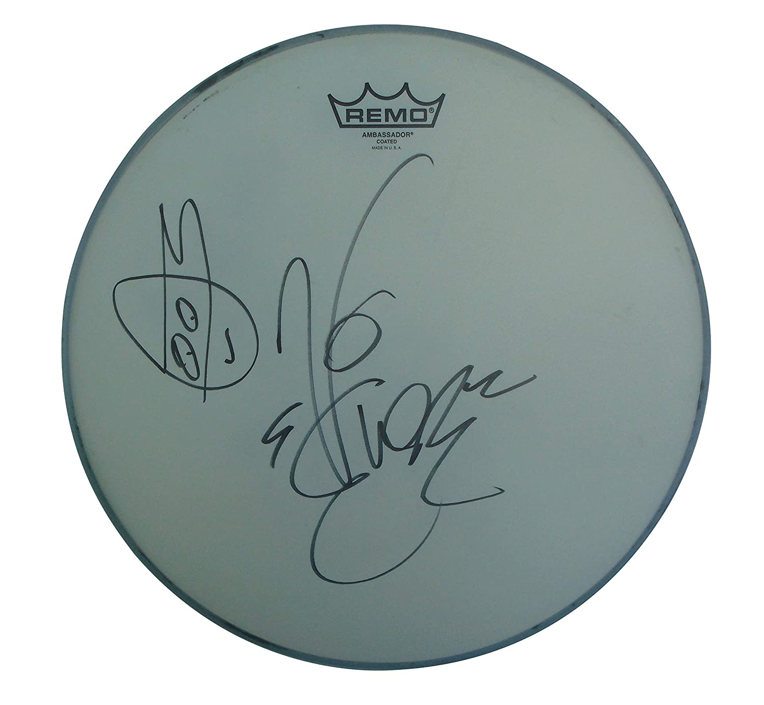 Rapper Vanilla Ice Signed Autographed Drumhead with Teenage ...