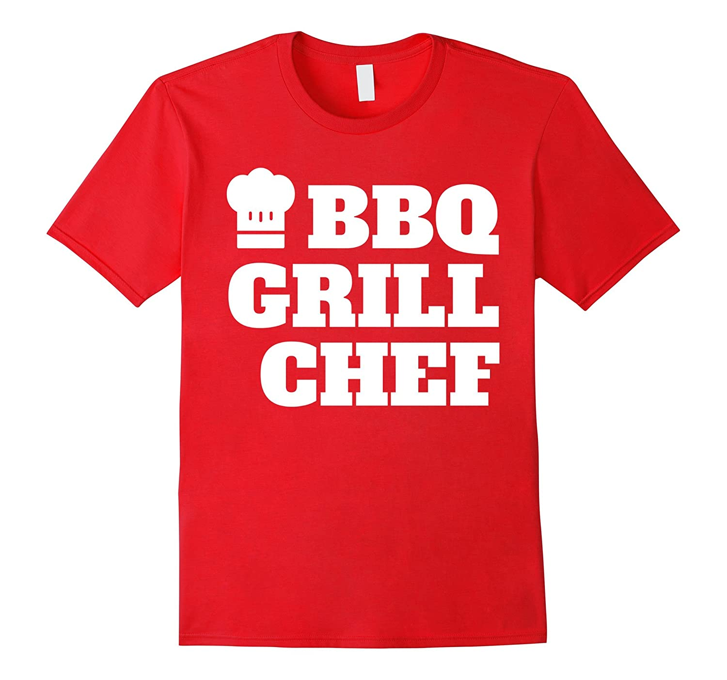 BBQ Grill Chef Funny Barbecue Cook Hat T Shirt-TH