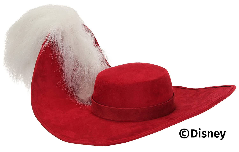 Adult Red Captain Hook Pirate Hat 58291d9718d5