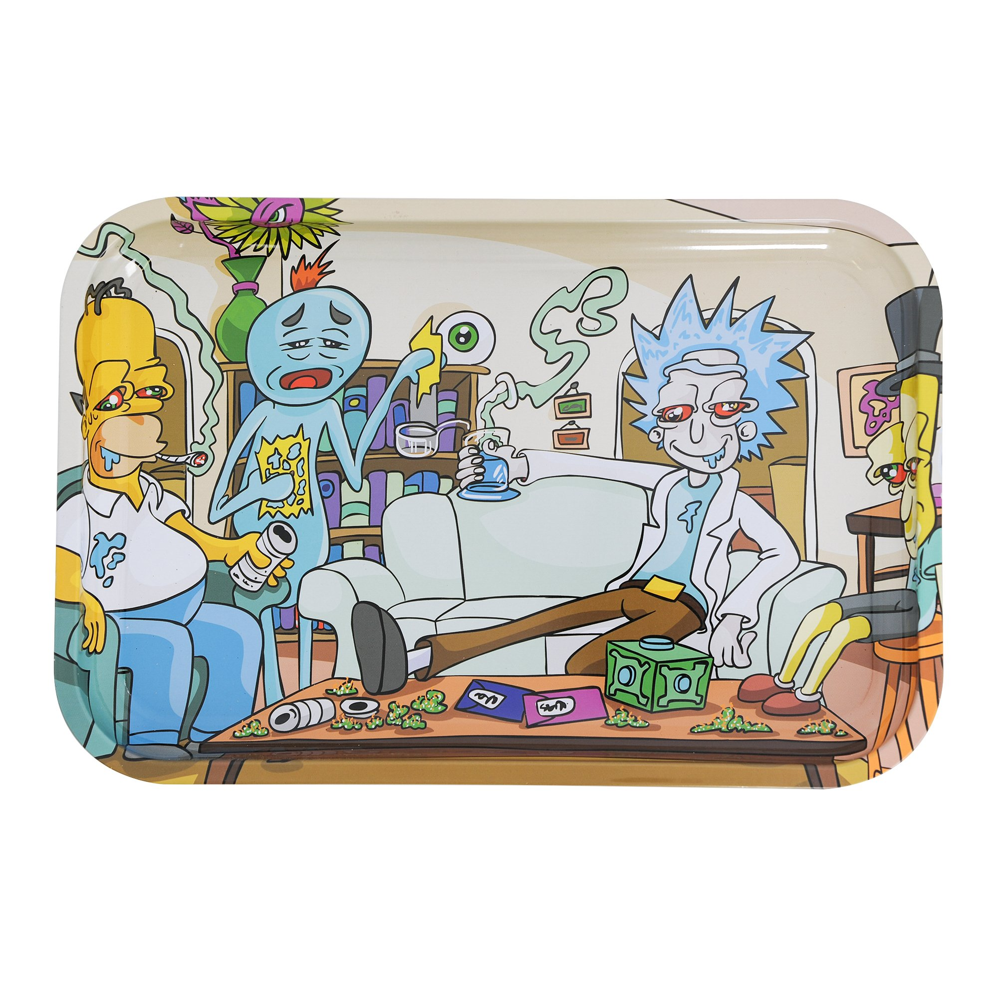 Impossible task rolling tray 13'' x 9'' Tin Rolling Trays (IMPOSSIBLE TASK)