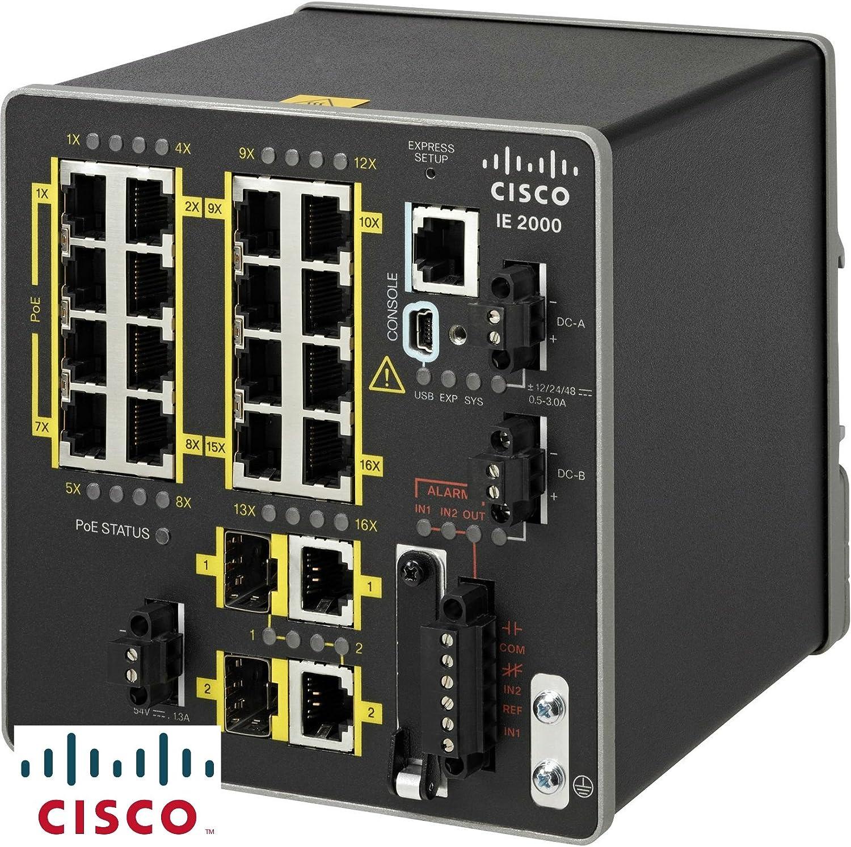 Cisco IE-2000-16TC-G-E Ethernet Switch Cisco Systems Inc