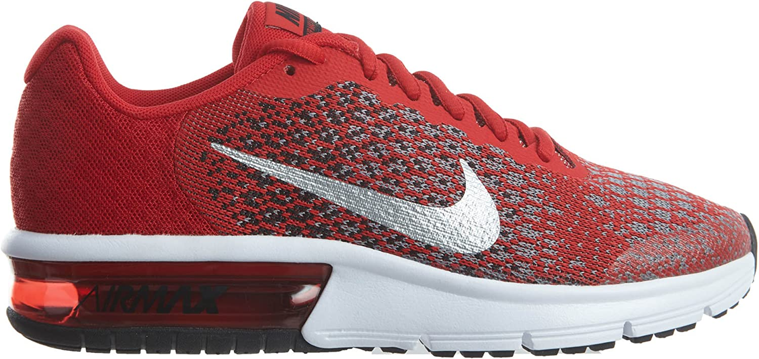 NIKE Boys Air Max Sequent 2 Running Shoe GS