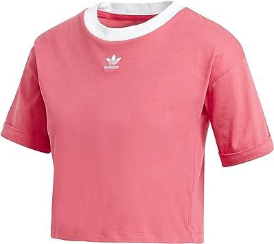 adidas Crop Top Camiseta sin Mangas, Mujer: Amazon.es: Deportes y aire libre