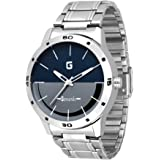 Geonardo Analogue Blue/Grey Dial Men's Watch - Gdm025