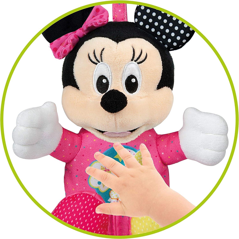 17207 /Baby Minnie Lightin Plush Clementoni/ Multicolore