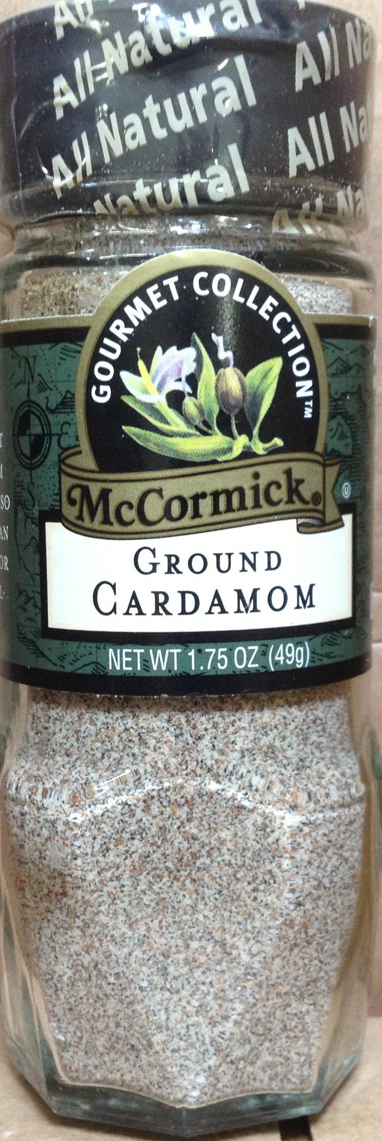 McCormick Gourmet GROUND CARDAMOM 1.75oz (2 Pack)