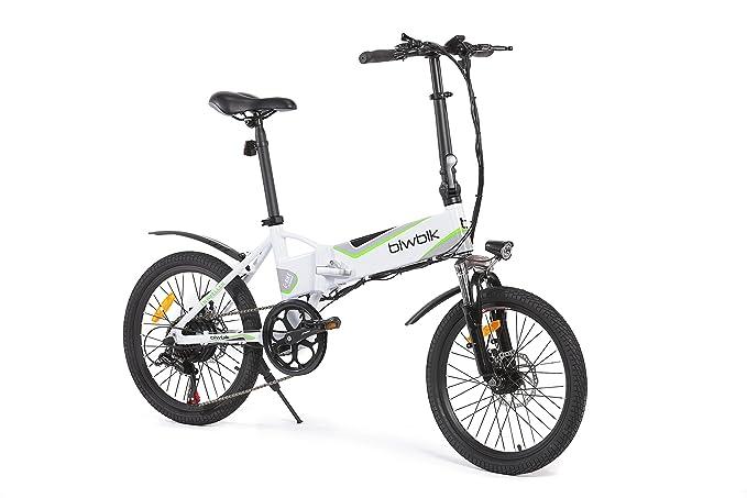 Biwbik Traveller 2.0 Bicicleta Eléctrica, Unisex adulto, Blanco, M: Amazon.es: Deportes y aire libre