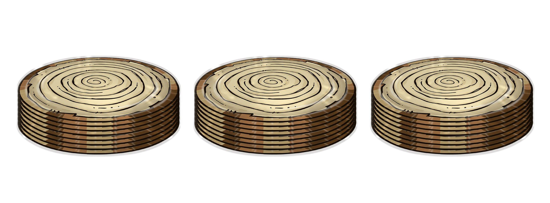 Beistle 58185 24 Piece Woodland Friends Plates, 9'', Multicolor